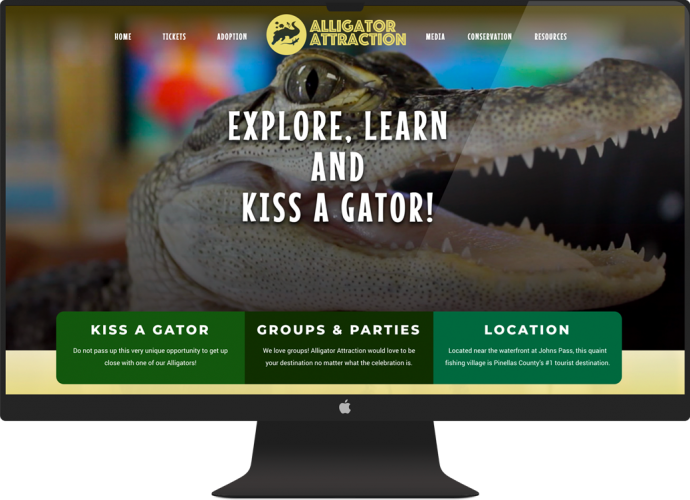 Alligator Attraction Website